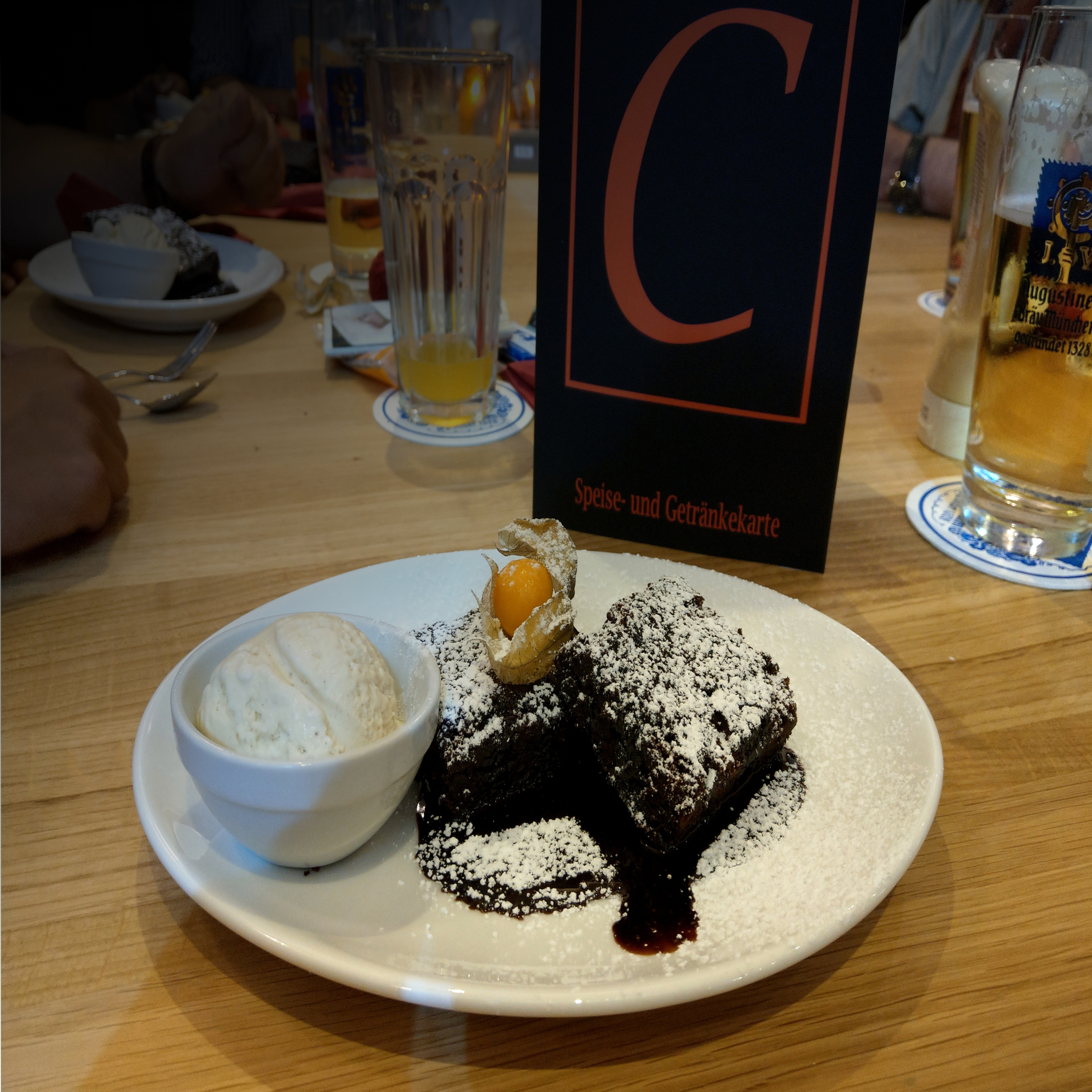 The Cave Restaurant Foxy Fudge Brownie